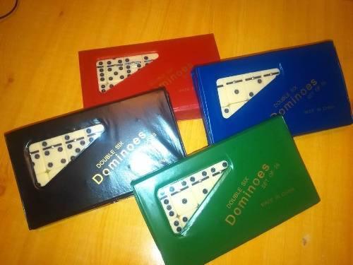 Juego de dominó grande. 28 piezas. profesional