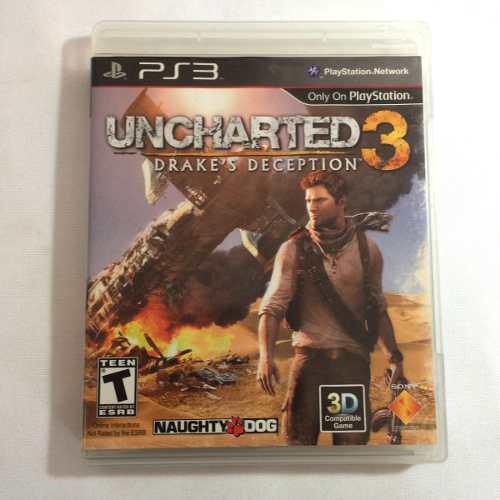 Juego para ps3 uncharted 3 drakes deception