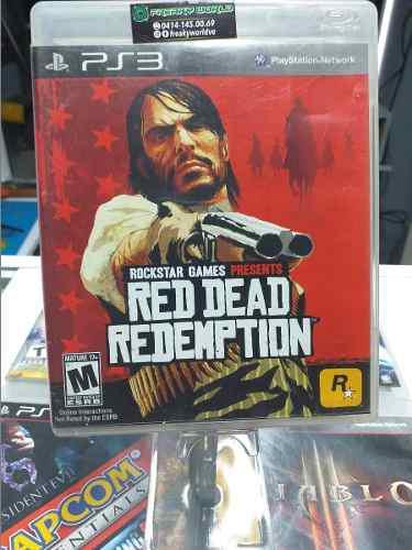 Juegos ps3 red dead redemption usado original somos tienda