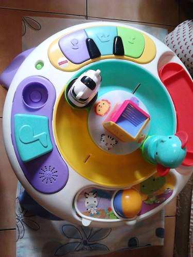Mesa de juego para niños(as), didactica fisher price.usada