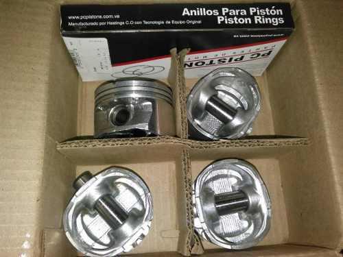 Pistones y anillos para renault twingo 1200cc 8v 020