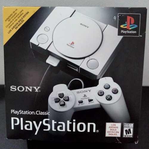 Playstation classic sony 2018, nuevo de paquete, garantía