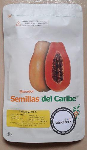Plántulas certificadas de lechosa maradol roja original