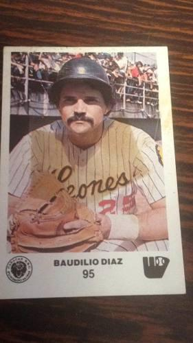 Rigoju barajita baudilio diaz álbum papel año 1981-82