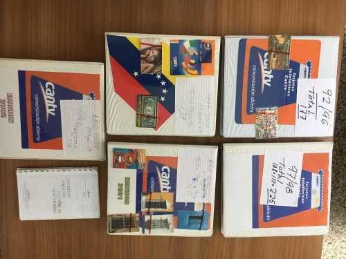 Tarjetas cantv excelente colección de 995 tarjetas