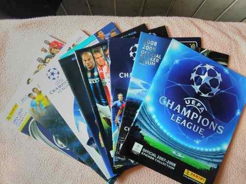 Lbum vacío de mundiales, europa, copa america y champions