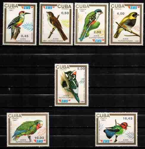 Estampillas Cuba Año 1991 Serie Completa Nueva. Ov