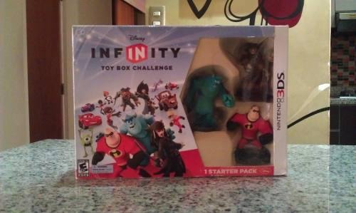 Kit completo disney infinity para 3ds