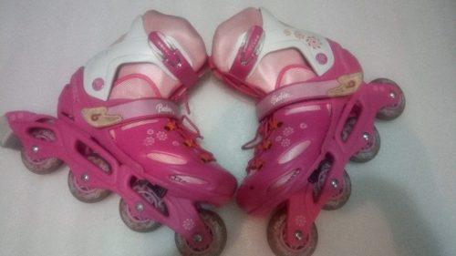 Patines En Linea Barbie...