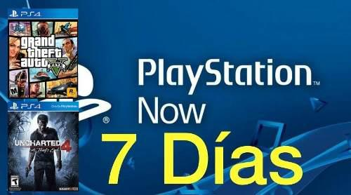 Playstation now 7 días + plus 14 días