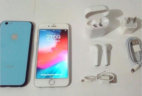 iPhone 6s 16gb + Forro + Vidrio Templado + AirPods