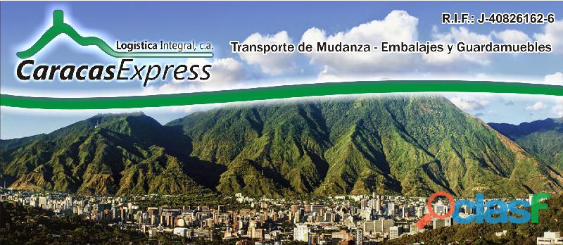 Mudanzas en Caracas