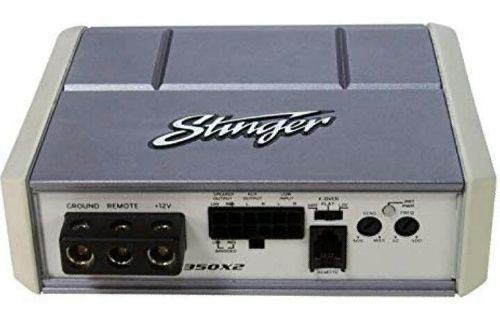 Amplificador Stinger 350 Wts 2ch Mini Marino Spx350x2