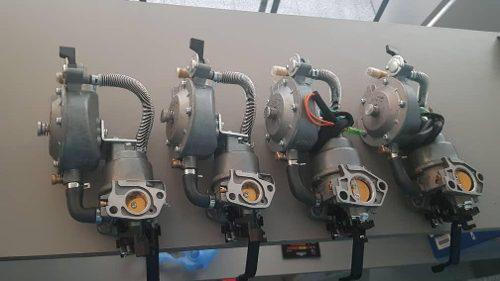 Carburador dual para plantas electricas kit de conversion