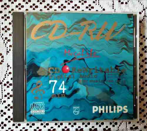 Cd audio digital pillips, regrabable grabadores de audio.