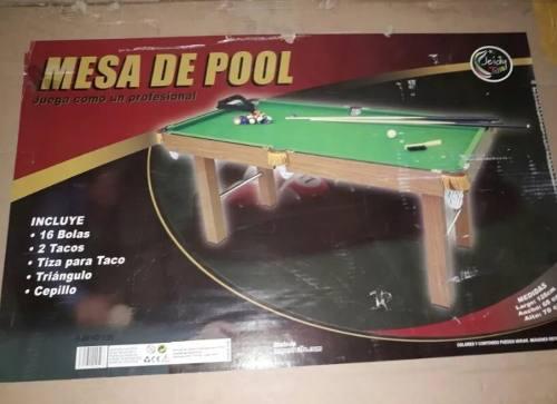 Mesa De Pool Grande Para Niños/ Juegos Para Niños/ Mesas