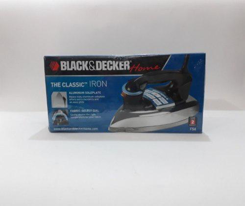 Plancha para ropa black & decker home f54