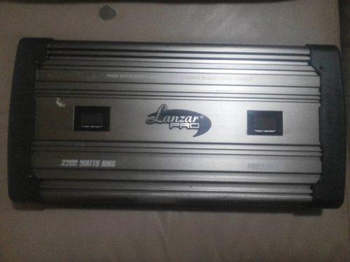 Planta amplificador lanzar pro 2200.1 monoblock 2200w rms