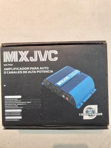 Planta Amplificador Para Auto Mini 1000 Vatios Mx 7100 Jvc