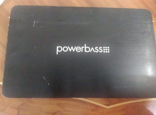 Planta Amplificador Powerbass 4 Canales 1600w. 200rms. Buena
