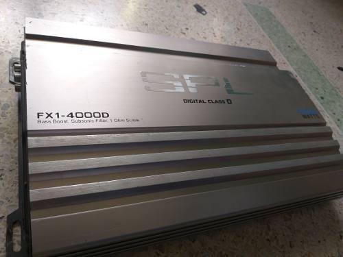 Planta o amplificador spl 4000 monoblock