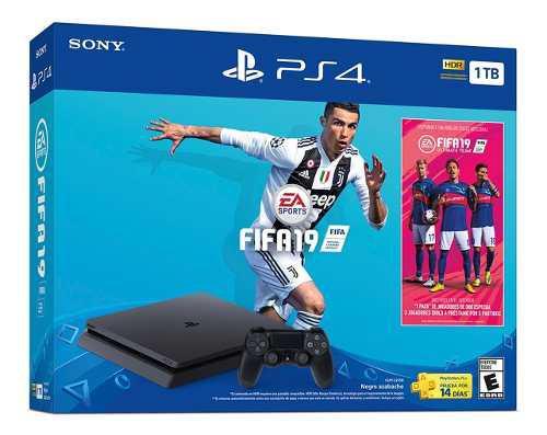 Playstation 4 slim 1 tb edición especial fifa 19 oferta