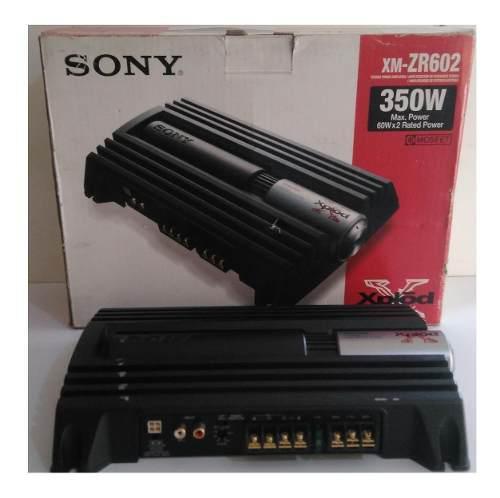 Amplificador para carro planta sony 350 w, poco uso.