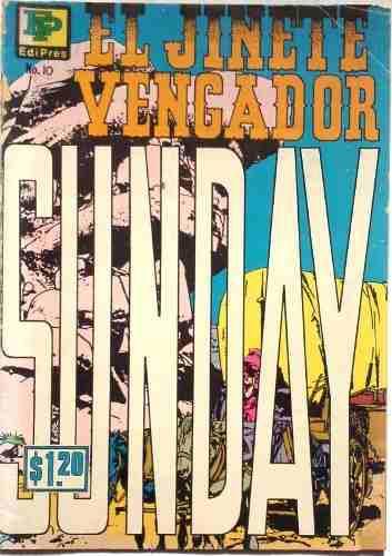 Coleccionable suplemento el jinete vengador n°10-31 03 1972