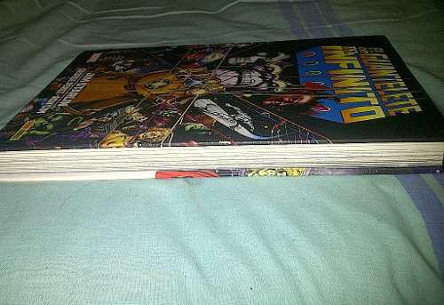 Comic marvel avengers: el guantelete del infinito.