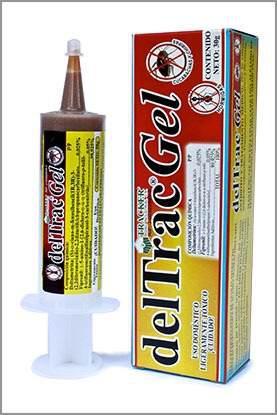 Deltrac gel 30g elimine cucarachas y chiripas