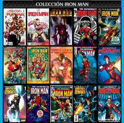 Iron man colección comic digital español descargable