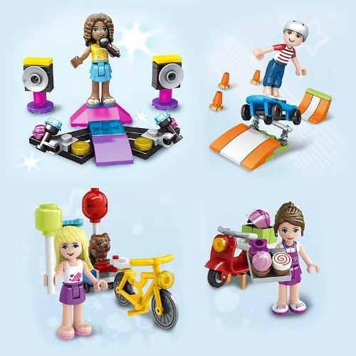 Juguete niña armable lego friends con accesorios