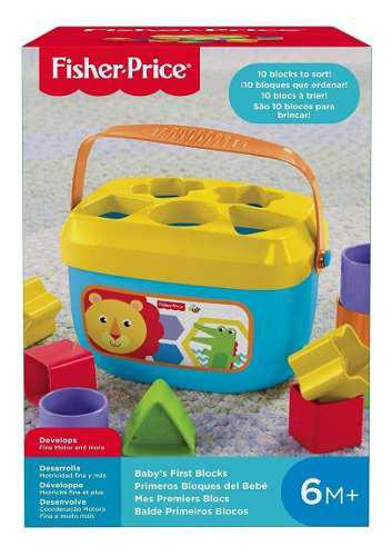 Juguetes bloques didácticos fisher price