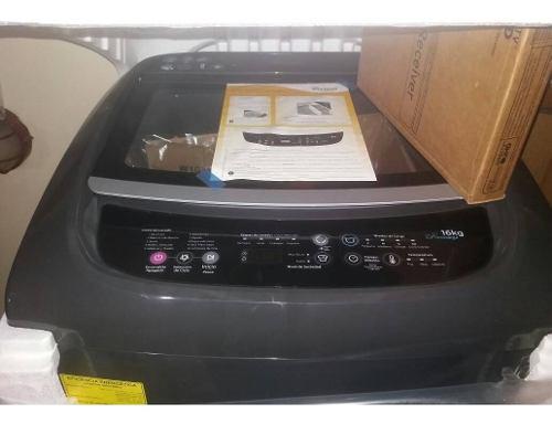 Lavadora automática whirpool 16 kg