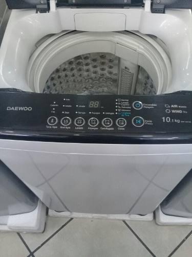 Lavadora daewoo 10 kilos nueva somos tienda