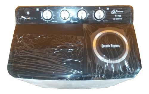 Lavadora doble tina semiautomatica 11 kg g deluxe (tienda)