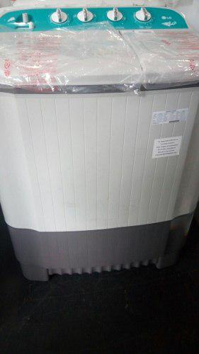 Lavadora semiautomática doble tina lg tienda física