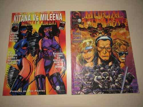 Mortal kombat comics