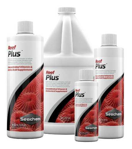 Reef plus vitaminas corales marino de seachem 500 ml