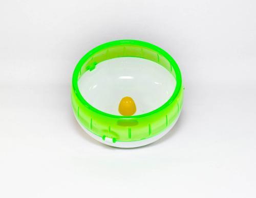 Rueda de plástico para jaula hamster animales mascotas