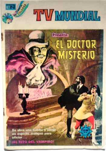 Suplemento tv mundial presenta el doctor misterio n° 266