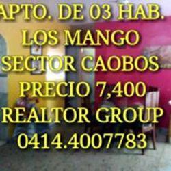 Apartamento los mangos sector los caobos en valencia vende