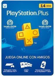 Play station plus 14 dias 3x1 paga 1 y llévate 2.
