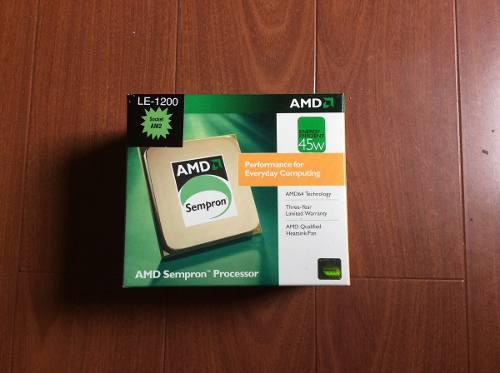 Procesador amd le-1200, 2.100 ghz, 512 kb, socket am2