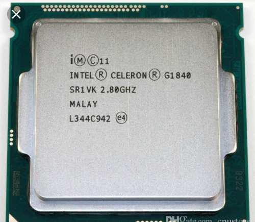 Procesador celeron g1840 2.8 ghz socket 1150 4ta gen haswell