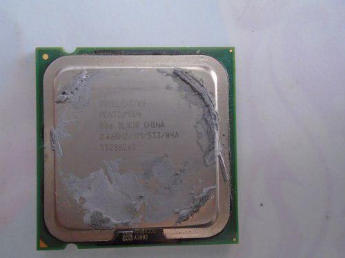 Procesador intel pentium 4 506 2.66ghz 1m bus 533