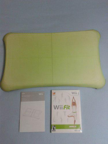 Tabla wii fit + alfombra + forro + kit combo accesorios