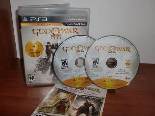 God of war saga (2 discos)