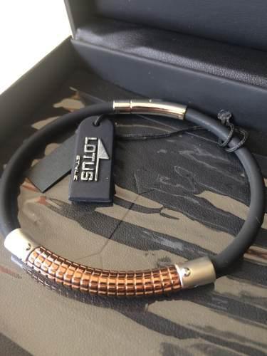 Lotus pulsera con accesorio en acero inoxidable 47