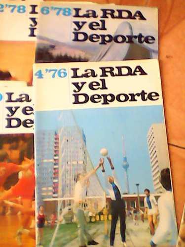 Revistas deportivas antiguas de colección